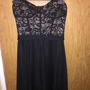 Lace corset dress!